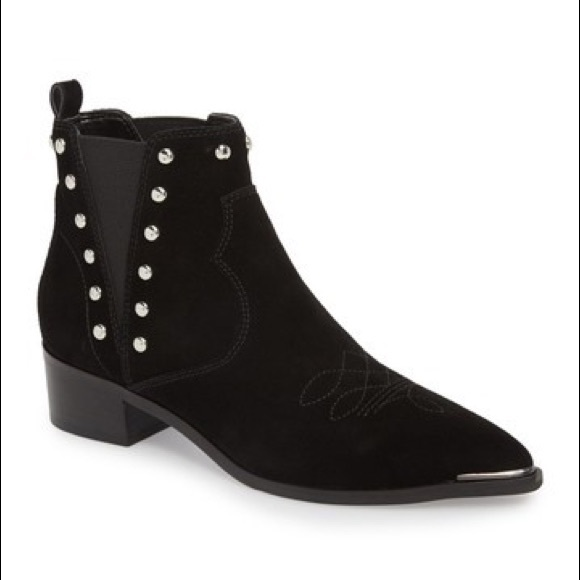 Marc Fisher Black Booties Size